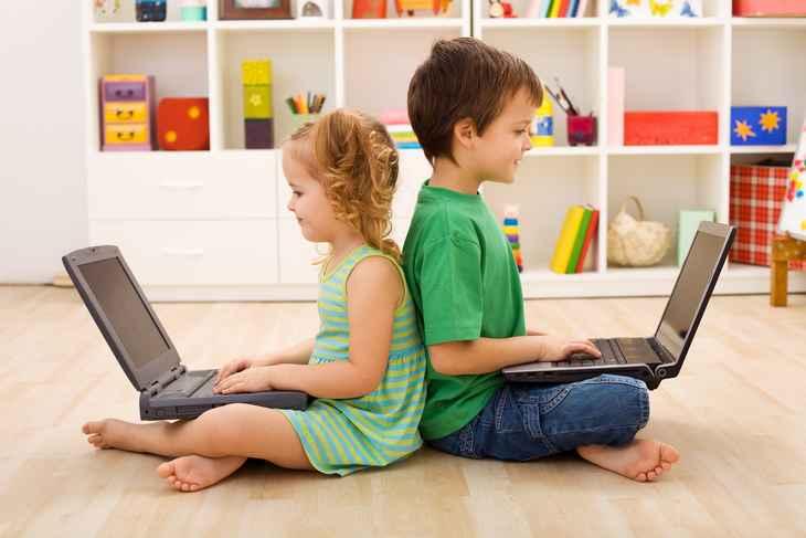 enfants-ordinateur