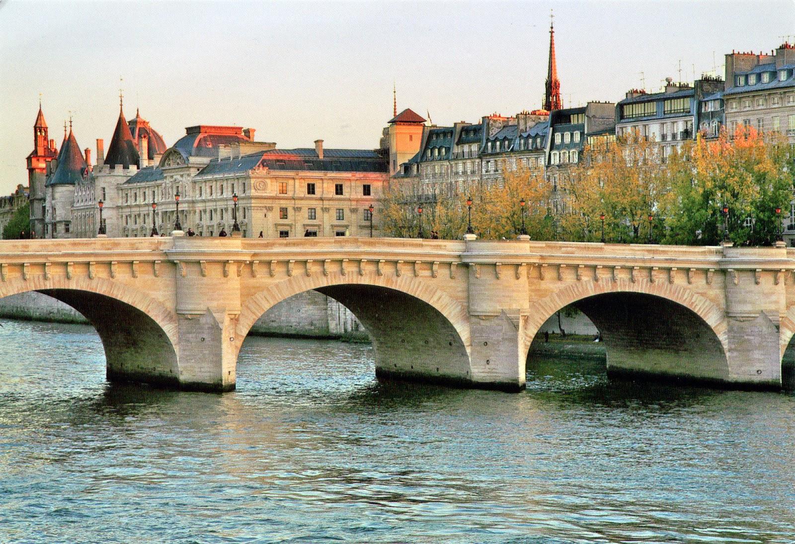 plus vieux pont de paris