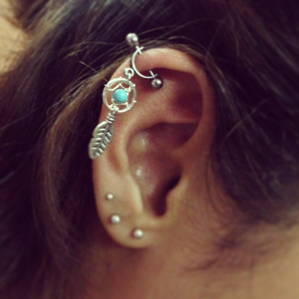 Percer oreille en bijouterie