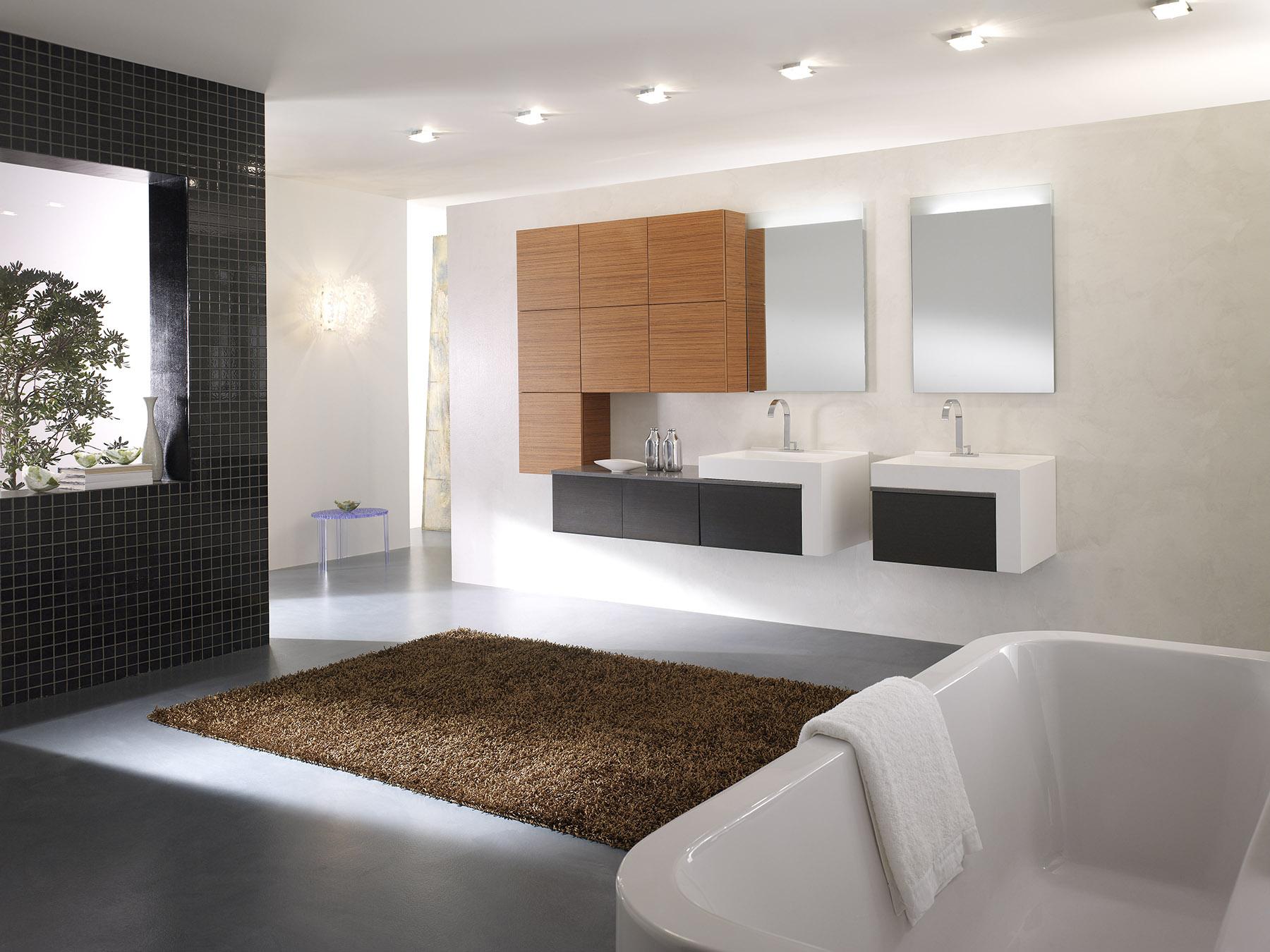 Meuble Salle De Bain Design Contemporain ouf les meubles de salle de bains changent. tom. incroyable