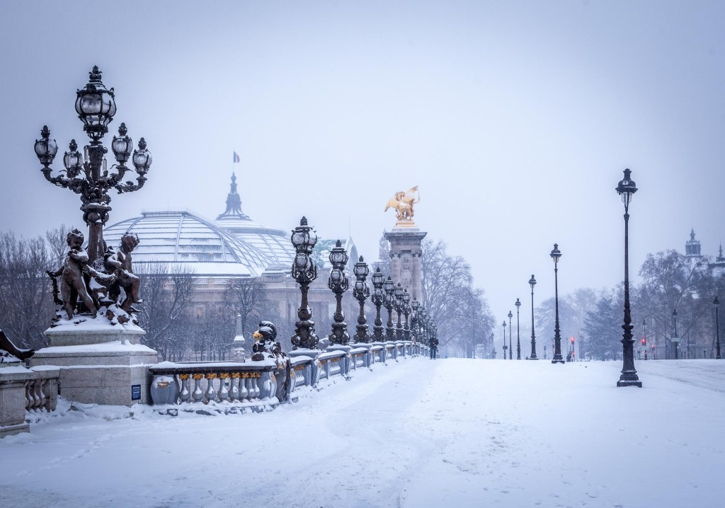 Redécouvrez les promenades à Paris sous un nouveau jour en hiver