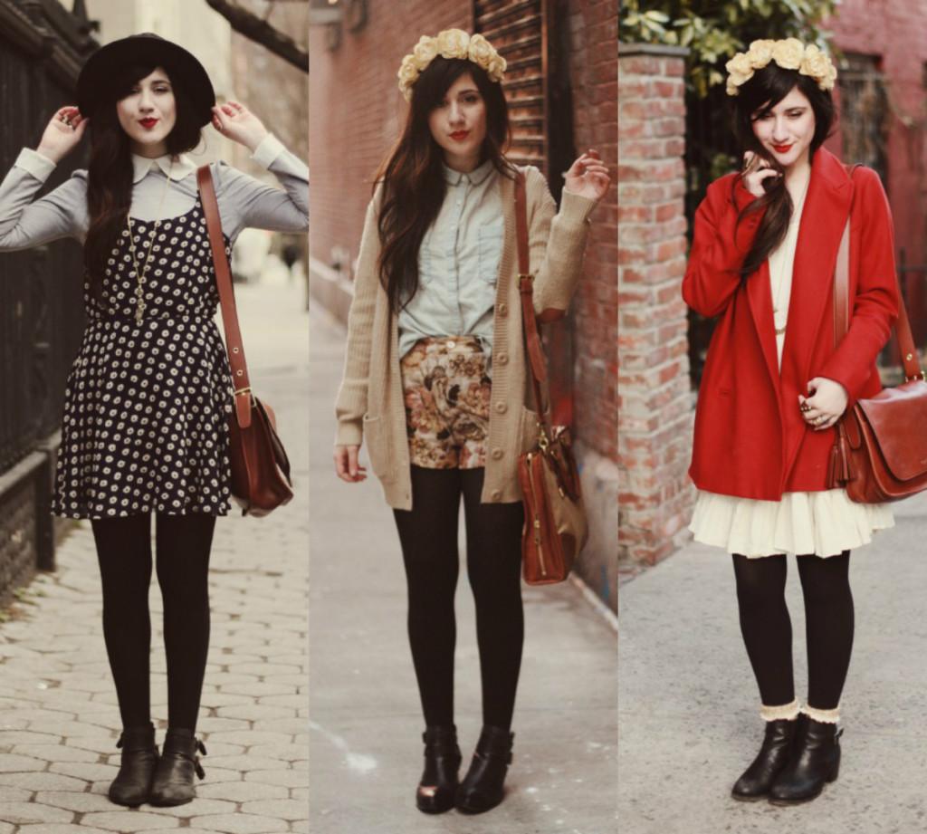 Comment se composer un look vintage et pourtant actuel ?