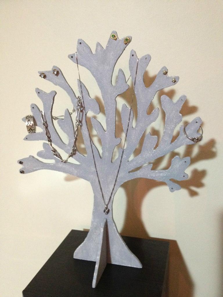 Comment fabriquer son arbre à bijoux en carton 2