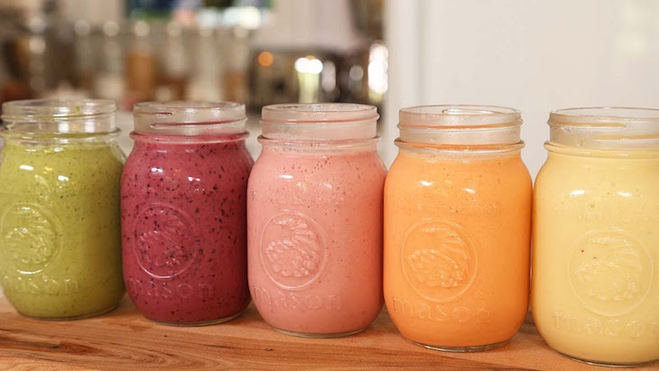 Comment faire un smoothie pour faire le plein de vitamines !1
