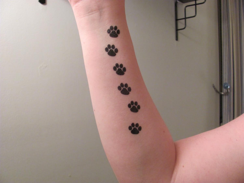 Tatouage Patte De Chat Pour Les Amis Des Felins