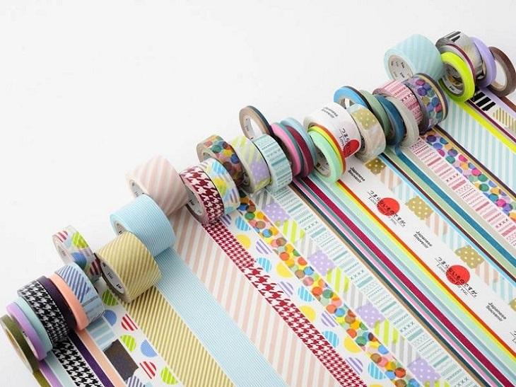 Le masking tape : le scotch décoratif japonais à la page !