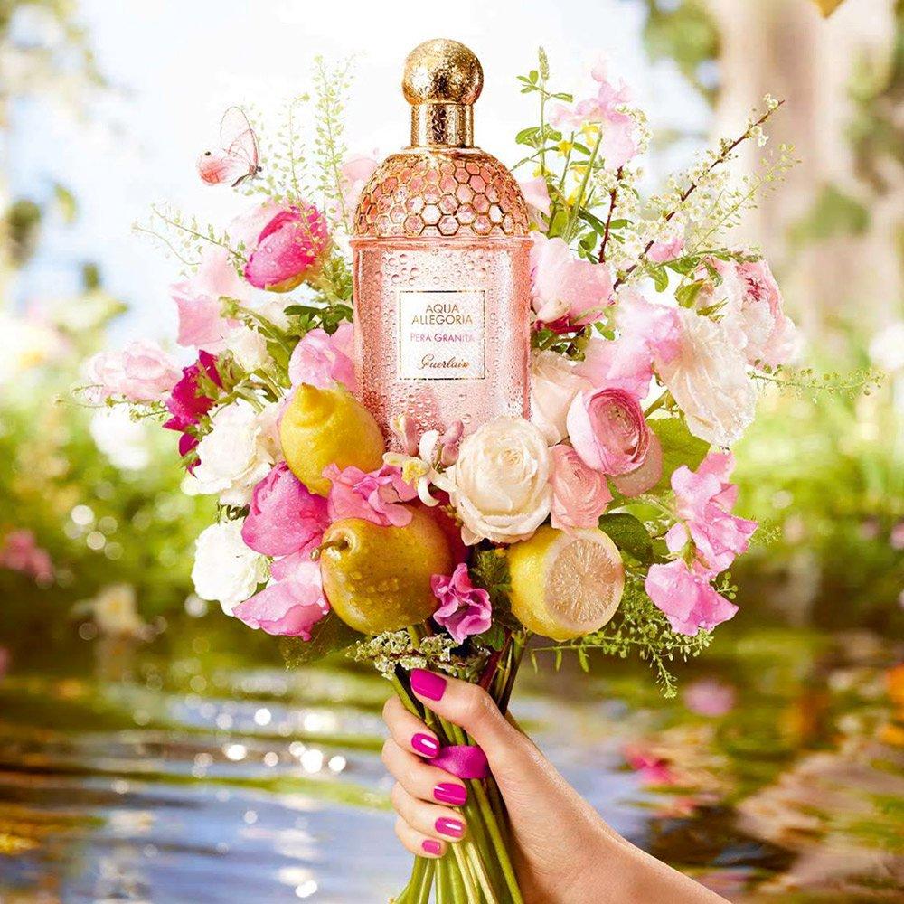 Une eau parfumée pour être fraiche au printemps