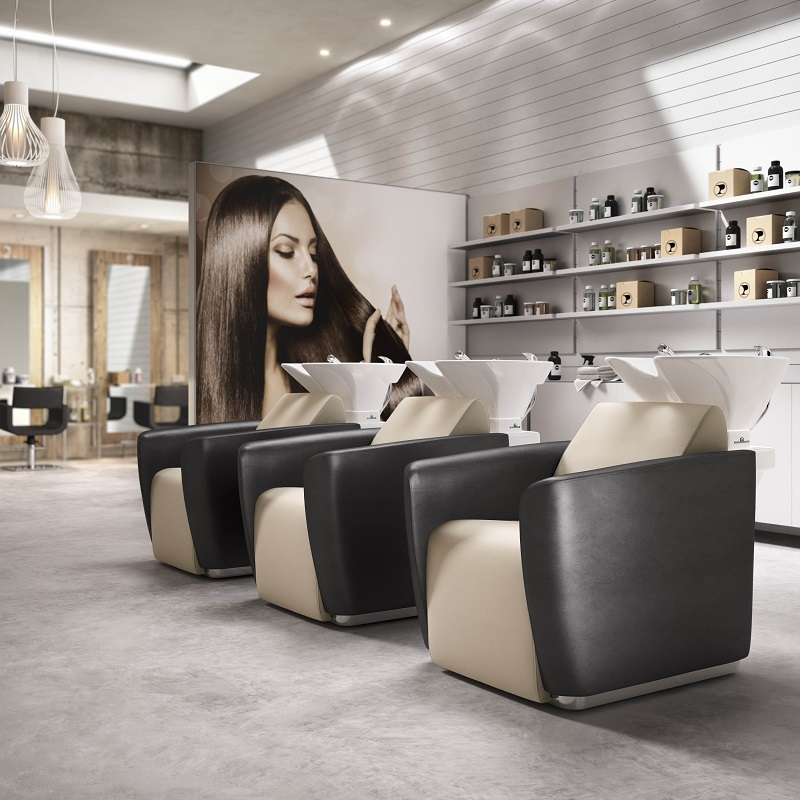 mobilier salon de coiffure que choisir comme style. Black Bedroom Furniture Sets. Home Design Ideas