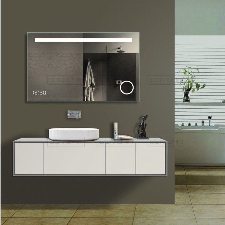 miroir anti buee LED