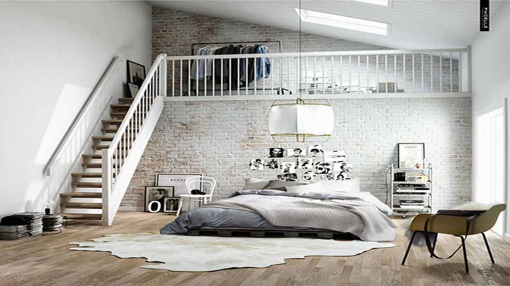 l am nagement d une mezzanine les r gles suivre. Black Bedroom Furniture Sets. Home Design Ideas