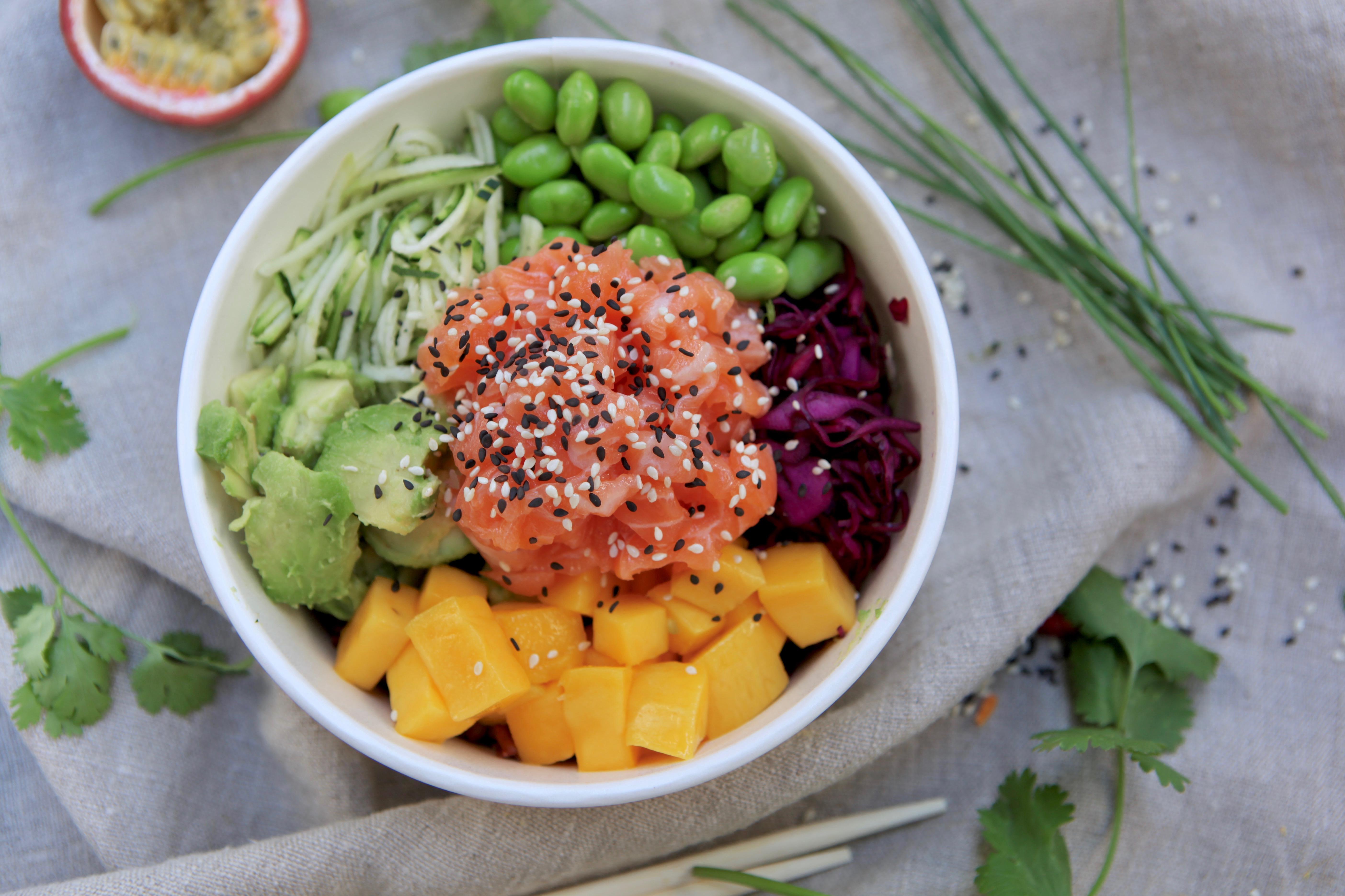 Poké Bowl au saumon
