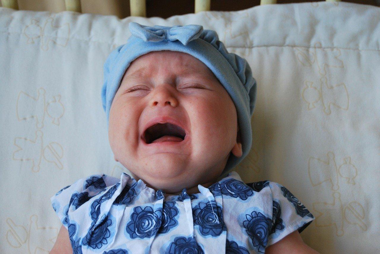 coliques chez le bébé