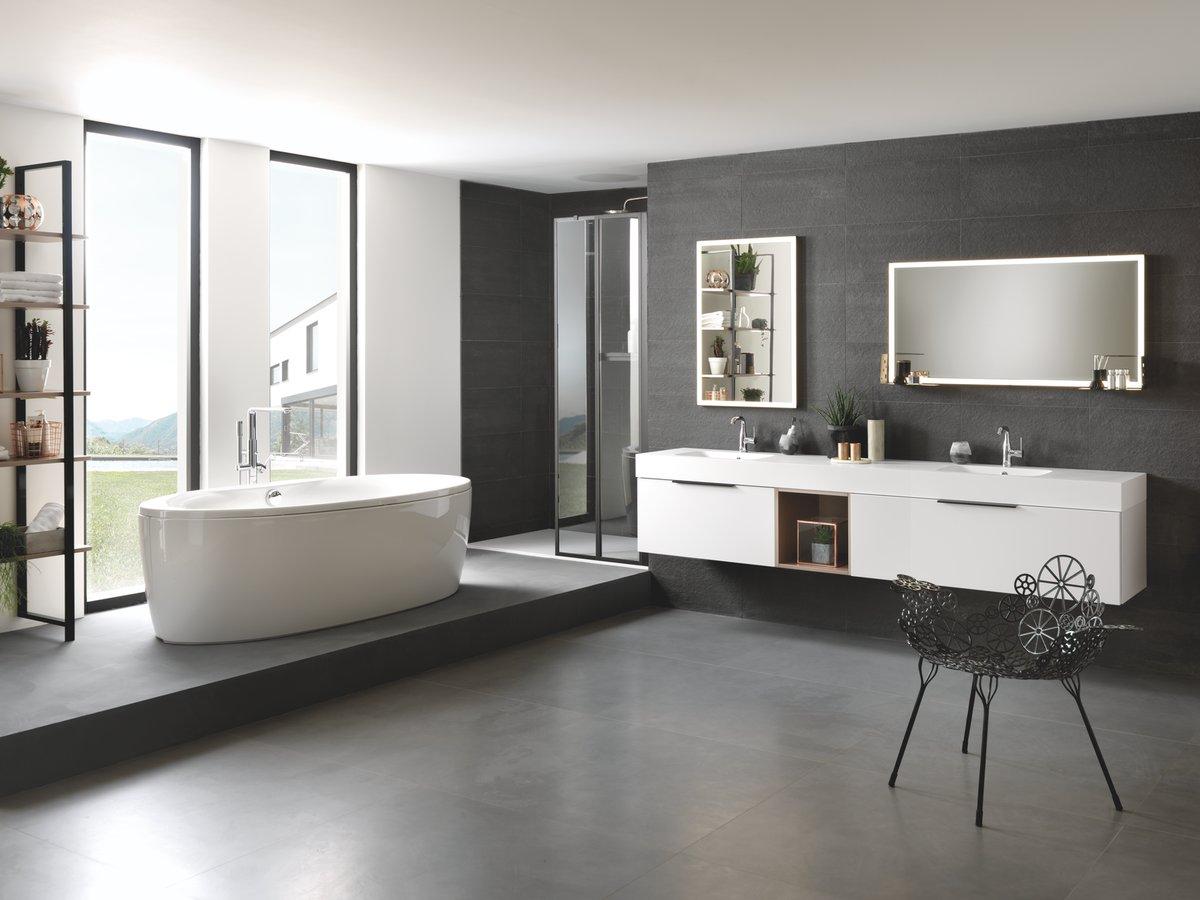 Décoration de salle de bain moderne
